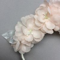 KITTEN wreath silk & satin